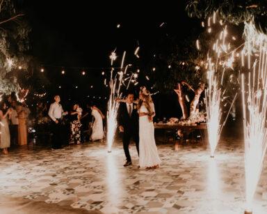 First Dance Boho Wedding