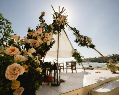 Luxury Indian Wedding Mandap Esperanza resort Los Cabos