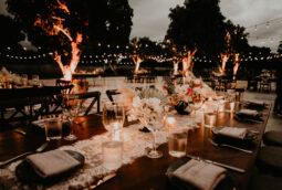 Acre Wedding Decor Night