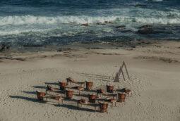 Boho Beach intimate wedding design Los Cabos