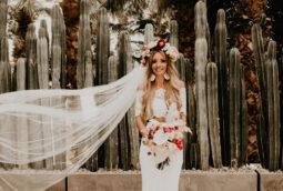 Boho Mexico Wedding Bride