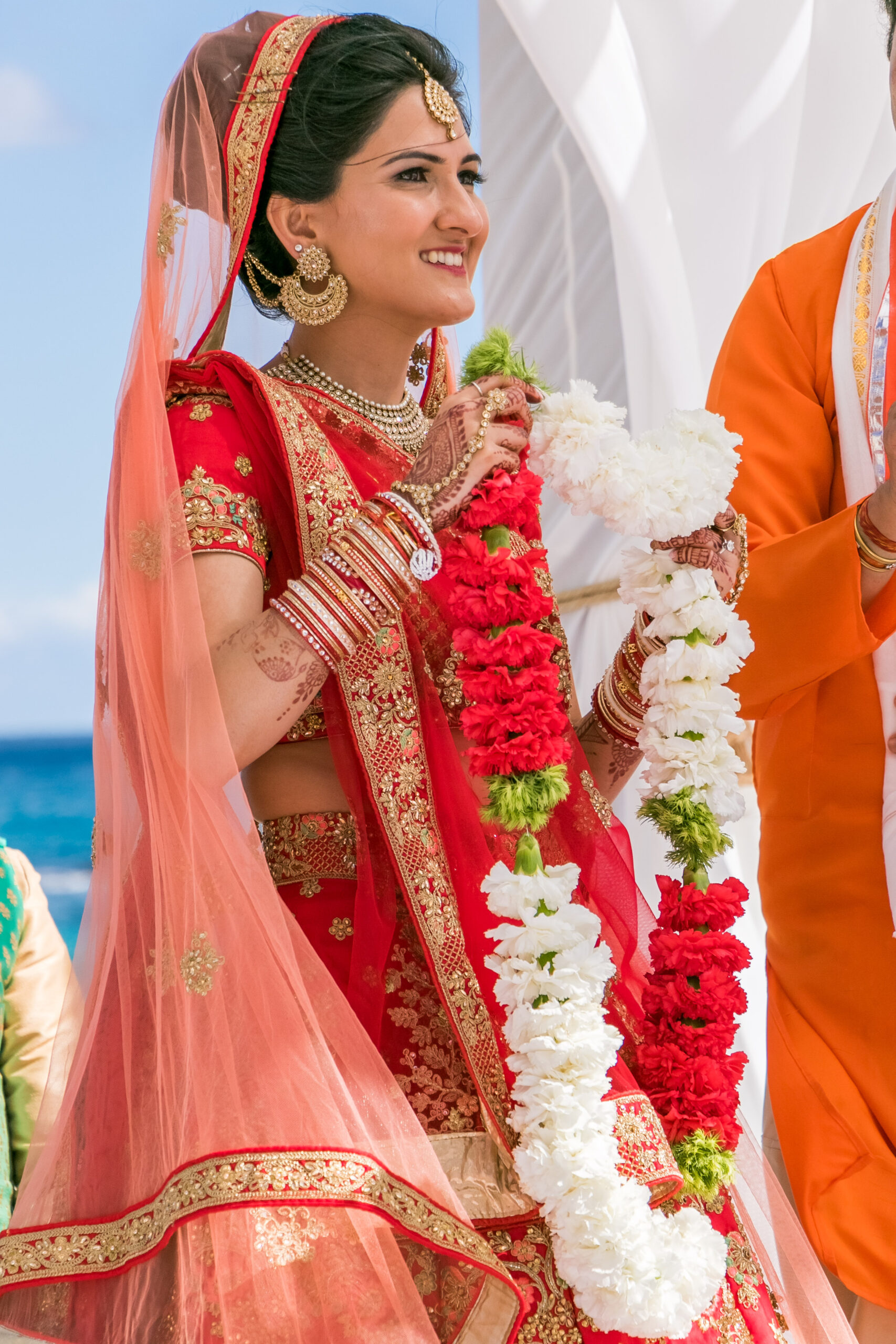 Hindu Wedding beach destination Mexico Los Cabos