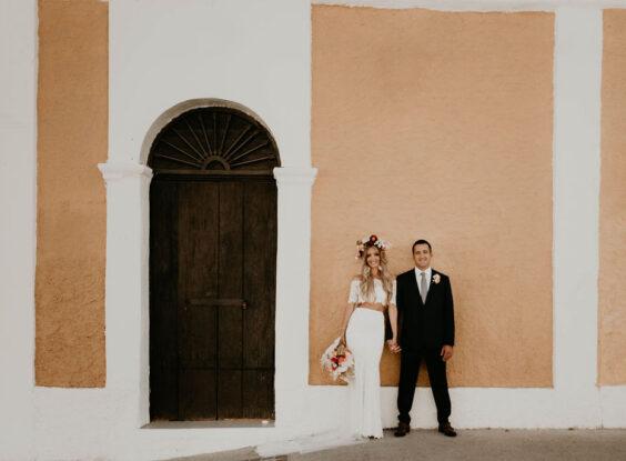 Mexican Street Wedding Photos San Jose del Cabo