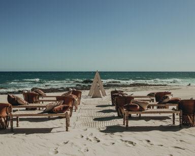 Rustic beach wedding Cabo Casa Bellamar