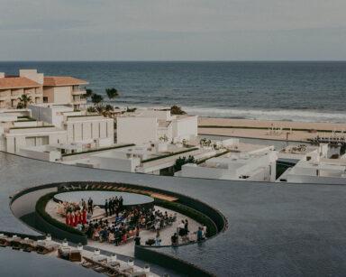 Viceroy Los Cabos water ceremony – bespoke destination wedding Mexico