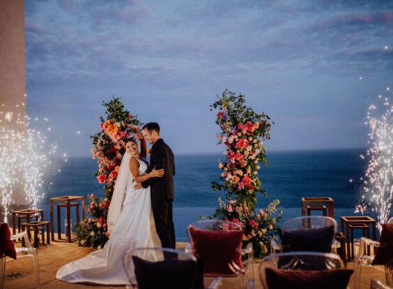 Villa Bellissima luxury destination wedding Cabo planner and designer